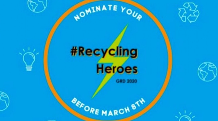 Lancement du concours mondial Recycling Heroes!