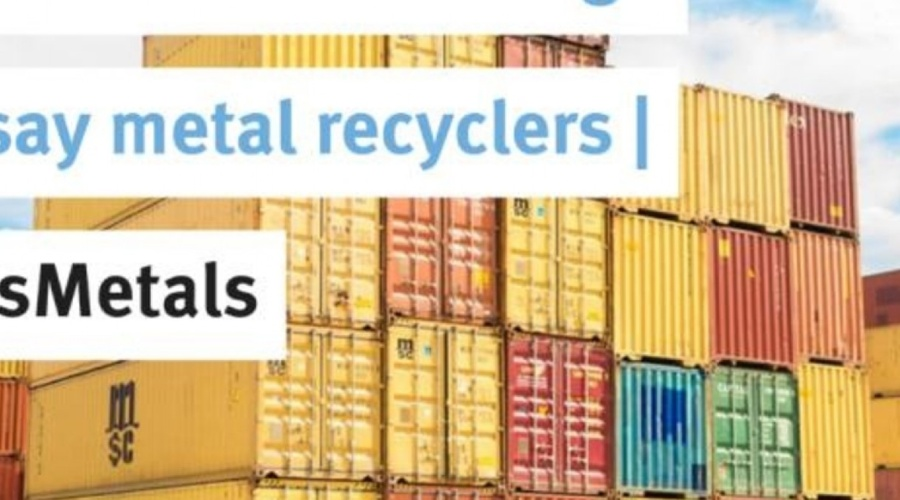 Global container shortage over, say metal recyclers