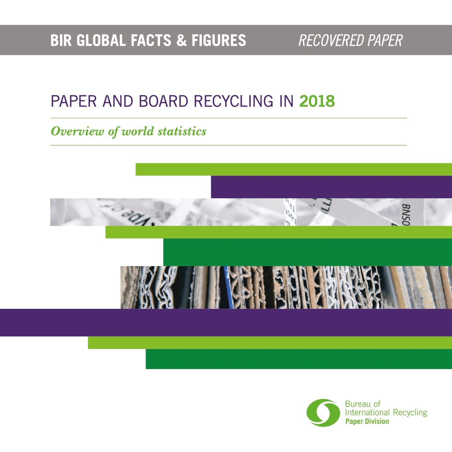 Paper and Board recycling in 2018